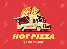 100 Pizza Truck For Sale Food Illustration Design Royalty Free Cliparts
