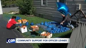 Pumpkin Farm Clarence Ny by Blue Pumpkins In Demand After Officer U0027s Death Wkbw Com Buffalo Ny