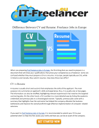 PPT - Difference Between CV And Resume: Freelance Jobs In ... The Difference Between A Cv Vs Resume Explained And Sayem Faruk Sales Executive Resume Format Elimcarpensdaughterco Cover Letter Cv Sample Mplate 022 Template Ideas And In Hindi How To Write Profile Examples Writing Guide Rg What Is A Cv Between Daneelyunus Whats The Difference