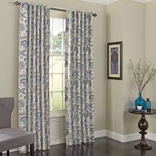 Walmart Eclipse Curtain Rod by Eclipse Curtains Nina Nature Floral Blackout Thermal Rod Pocket