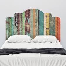 Wall Mural Decals Beach by Distressed Panels Adhesive Headboard Adhesive Wall Stripes And