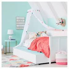 Twin White Bed by Finn Twin Kids Day Bed White Pillowfort Target