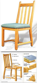100 Wooden Dining Chairs Plans Room Chair Furniture And Projects
