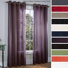 Martel Semi Sheer Grommet Curtain Panels