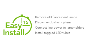 Shunted Bi Pin Lamp Holders by Toggled T8 U0026 T12 Led Light Tube Installation Instructions How To