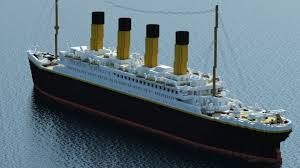 Minecraft Titanic Sinking Map by Xbox 360 Edition Very Detailed 1 1 Scale Hmt Olympic Rms Titanic