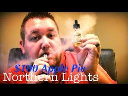 $100 Apple Pie E Juice from Northern Lights Vapor Co