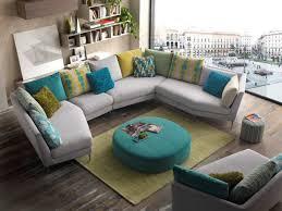 grand coussin de canapé canape d angle design pied alu coussins de couleur au choix grande