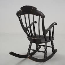 A Painted Childrens Rocking-chair From Around 1900. - Bukowskis Victorian Arts And Crafts Solid Oak Antique Glastonbury Chair Original Primitive Press Back Rocking 1890 How To Appraise Chairs Our Pastimes Bargain Johns Antiques And Mission Identifying Ski Country Home Replace A Leather Seat In An Everyday Wooden High Chair From 1900s Converts Into Rocking Lborough Leicestershire Gumtree Sold Style Refinished Maple American Style Childs Antiquer Rocker Reupholstery Vintage