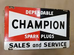 CHAMPION SPARK PLUGS SALES & SERVICE Vintage Porcelain Sign 18 X 11 ... 10 Best Spark Plugs 2017 Youtube Shop Performance E3 Antique Champion Spark Plug Cleaner Kohler Plug For 5xt675 Engines490250k016 The W89d Hot Wheels Delivery Series Combat Medic In Decals 1981 Toyota Pickup Premium Quality Qc10wep Ebay Dg95 Replacement Honda Power Equipment08983999010