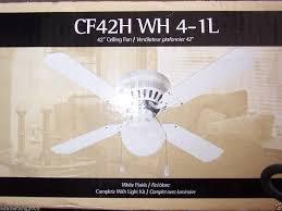 Canarm Ceiling Fan Light Kit by New Canarm Cf42h Wh 4 1l 42 White Ceiling Fan 400728153006