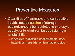 Flammable Liquid Storage Cabinet Location by Flammable And Combustible Liquids Ppt Video Online Download