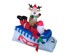 Grinch Blow Up Yard Decoration by Christmas Outdoor Inflatables Christmas Wikii