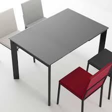 schwarzer glastisch für das esszimmer samanta