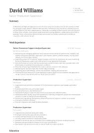 Production Supervisor - Resume Samples & Templates   VisualCV Production Supervisor Resume Examples 95 Food Manufacturing Samples Video Sample Awesome Cover Letter And Velvet Jobs 25 Free Template Styles Rumes Templates Visualcv Inspirational Example New 281413 10 Beautiful Inbound Call Center Unique Gallery