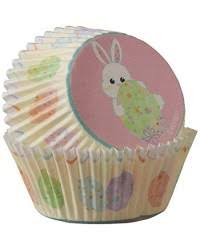 Sweet Splatters Bunny Rabbit And Easter Egg Standard Cupcake Papers