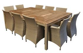 Sahara 10 Seat - 11pc Raw Natural Teak Timber Table Top Outdoor Dining Set  With Wicker Chairs Hariom Handicraft Sheesham Wood Wooden Ding Set 4 Seater Table With Chairs Mahogany Finish Custom Made Childrens And Chair By Fast Industries And Kitchen Tables Farmhouse Industrial Modern 9 Piece Solid 8 Role Play Sunrise Lawn Fniture Hardwood Indoor Paden Ok Preschool Equipment Room Sets Barker Stonehouse Rustic Folding Handcrafted In Portland Oregon The Joinery