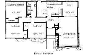 Stunning Small Bedroom House Plans Ideas by 3 Bedroom House Plans Home Planning Ideas 2017