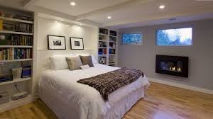 Enthralling Young Women Bedroom Design Also Fireplace Under Glass Window In Bookcase Idea On Wall Beside