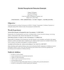Law Firm Receptionist Position Resume Office Sample