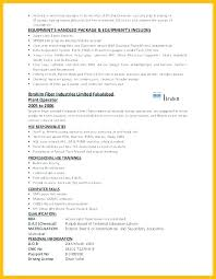 Production Operator Resume Plant Sample For Machine