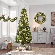 7ft Slim Christmas Tree by Find All Types Of Christmas Trees At The Home Depot
