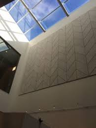 Tectum Tonico Ceiling Panels by All Tectum Products Including The Panel Art Hexagons Are The