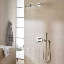 grohe grohtherm 3000 cosmopolitan thermostat shower with arm