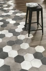 tiles hex tile to wood floor transition woodplace ragno marazzi