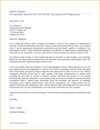 15 administrative assistant cover letter Basic Job Appication Letter