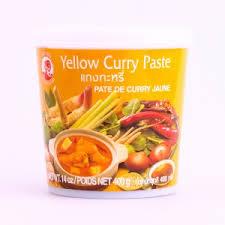 pâte de curry jaune 400g asian market supermarché asiatique en ligne