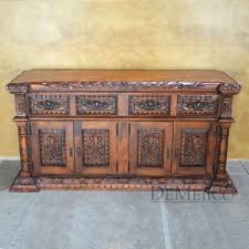 Buffet Table Catalog Inspired By Old World Style Furniture Rustic Mexican Southwest Styles