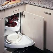 amenagement placard cuisine angle tourniquet demi lune standard accessoires cuisines