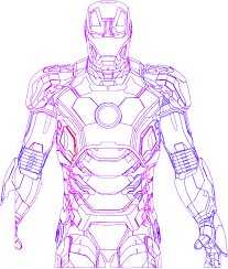 Iron Man Mark 42 Vector By Random Kell