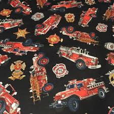 Firefighter 5 Alarm100% Cotton Fabric By Yard Black Fire Truck ... Truck Cotton Fabric Fire Rescue Vehicles Police Car Ambulance Etsy Transportation Travel By The Yard Fabriccom Antipill Plush Fleece Fabricdog In Holiday Joann Sku23189 Shop Engines From Sheetworld Buy Truck Bathroom And Get Free Shipping On Aliexpresscom Flannel Search Flannel Bing Images Print Fabric Red Collage Christmas Susan Winget Large Panel 45 Marshall Dry Goods Company