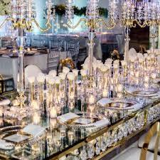 True Reflection 40 Gorgeous Mirrored Wedding Ideas