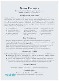 Qualifications On Resume Sample Best Maintenance Tech Samples Support