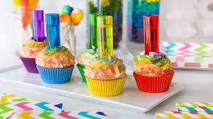 Rainbow Shot Cupcakes Recipe