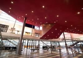 wool suspended ceiling panel acoustic retardant