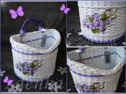 Craft Work With Newspaper Basket Step By Unique Diy Paper Quilling Art Recycle