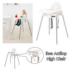 Below SRP Store - Ikea Antilop High Chair Is Now Available ... Iktilopghchairreviewweaningwithtraycushion Highchair With Tray Antilop Light Blue Silvercolour Baby Hacks Ikea Antilop High Chair 9mas Easymat On Ikea High Chair Babies Kids Nursing Feeding Carousell Cushion Cushion Only White Price In Singapore Outletsg Ikea Price Ruced Baby