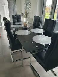 schwarzer glastisch küche esszimmer ebay kleinanzeigen