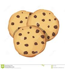 Chocolate Chip Cookies Choco cookie icon Vector illustration