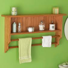 wall shelf and towel rack woodworking plan woodworkers source
