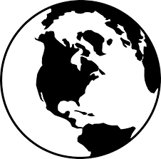 Free vector graphic Globe World Earth Black White Free