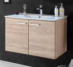 splash waschbeckenunterschrank wbu inkl becken eiche sonoma günstig möbel küchen büromöbel kaufen froschkönig24