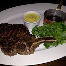 Grilled 35 Day Aged Aberdeen Angus Rib Eye Steak