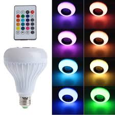 light bulb light bulb with speaker leafywallet home lighting