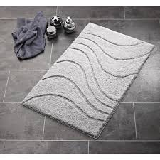 ridder wc vorleger ohne ausschnitt la ola grau 55 x 50 cm