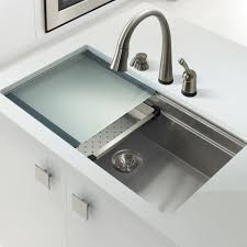 33x22 Stainless Steel Kitchen Sink Undermount by Novus 31 56